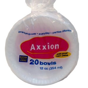Axxion Bowls 20ct 12oz