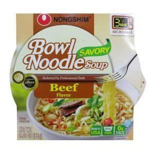 N.S Bowl Noodle Soup Beef 3.03oz
