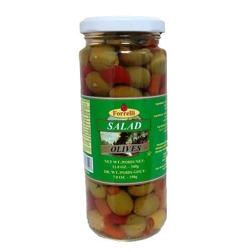 Forrelli Salad Olives 6.4.oz