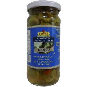 Forrelli Stuffed Olives 8.5oz In Jar
