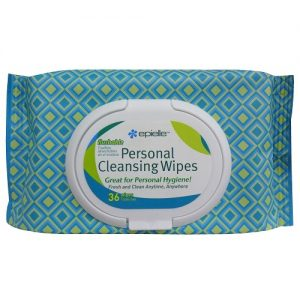 Epielle Personal Cleansing Wipes 36ct