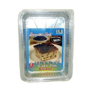 D. Foil Cake Pan W-Lid 1pc