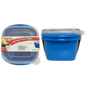 ***Food Container Square 2pc