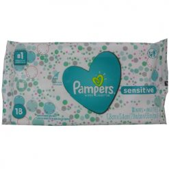Pampers Wipes 18ct Sensitive