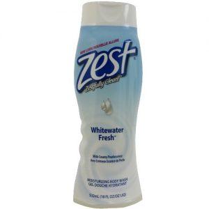 Zest Body Wash 18oz Whitewater Fresh