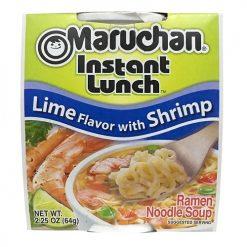 Maruchan Cup Lime Shrimp 2.25oz