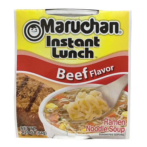 Maruchan Cup Beef 2.25oz