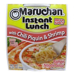 Maruchan Cup Cajun Shrimp 2.25oz Piquin