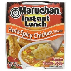 Maruchan Cup Hot AND Spicy Chicken 2.25oz