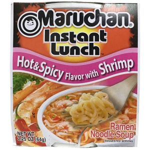 Maruchan Cup Hot AND Spicy Shrimp 2.25oz