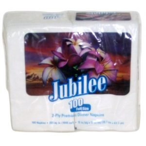 Jubilee Dinner Napkins 100ct 2-Ply