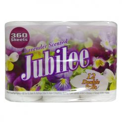 ***Jubilee Bath Tissue 360ct 12pk Lavend