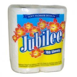 Jubilee Bath Tissue 4pk 180ct 2 Ply