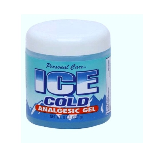 P.C Ice Cold Analgesic Gel 8oz