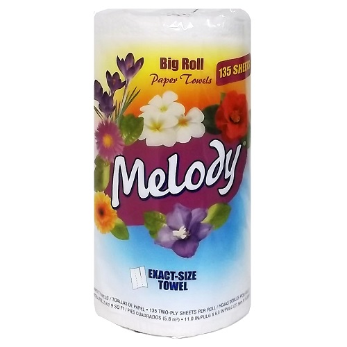 Melody Big Roll Paper Towel 90ct 2 Ply