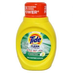 Tide Liq Detergent 25oz Daybreak Fresh
