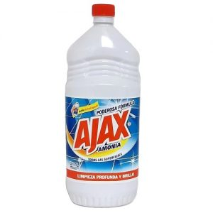 Ajax Liq Cleanser 1 Ltr W-Amonia