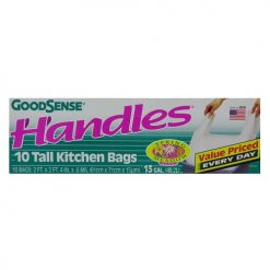 G.S Handles 10ct Kitchen Bags Spring