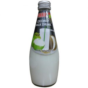 Parrot Coconut Milk Drink 9.8oz Glass