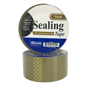 Sealing Tape Tan 1.88in X 54.6 Yrds