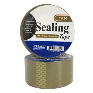 Sealing Tape Tan 1.88in X 54.6 Yrds