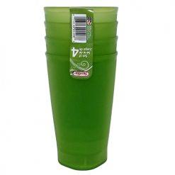 Sterilite Tumblers 4pc 20oz Green