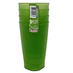 Sterilite Tumblers 4pc 20oz Green