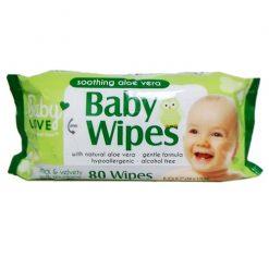 Baby Love Baby Wipes 80ct W-Aloe Vera