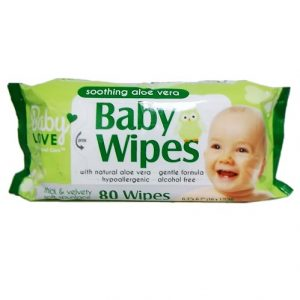 Baby Love Baby Wipes 80ct W-Aloe Vera