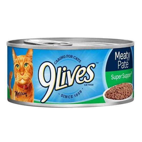 9 Lives 5.5oz Super Supper