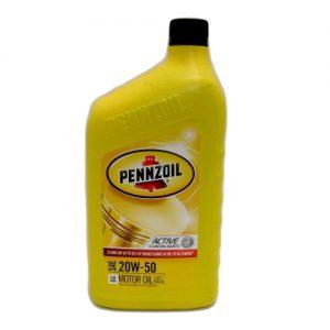 Pennzoil Motor Oil 20W-50 1qt