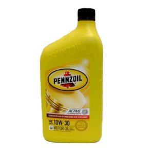 Pennzoil Motor Oil 10W-30 1qt