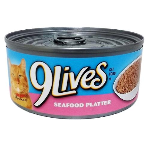 9 Lives 5.5oz Seafood Platter
