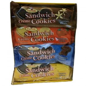 Forrelli Sandwich Cookies 8pc 9.88oz