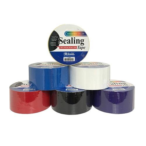 Sealing Tape 1.88in X 54.6 Yrds Asst Clr