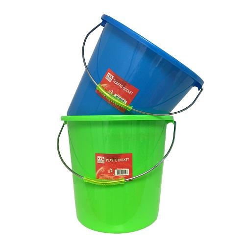Bucket Asst Clrs Plastic