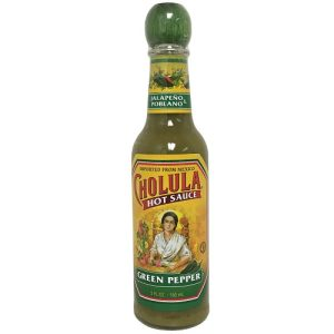 Cholula Hot Sauce 5oz Green Peppers
