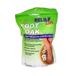Relief MD Foot Soak Epsom Salt 16oz