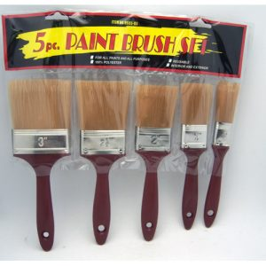 Paint Brush Set 5pc