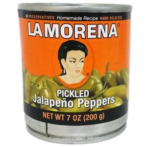 La Morena Whole Jalapenos 7oz