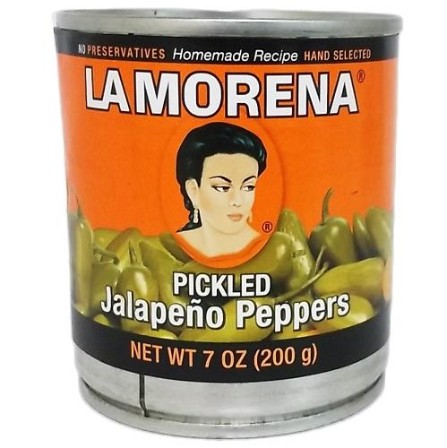 La Morena Whole Jalapenos 7oz