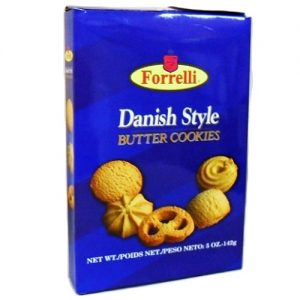 ***Forrelli Danish Style Butter Cookies