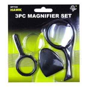 Magnifier Set 3pc