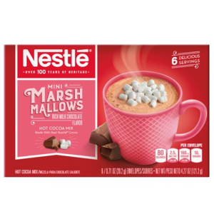 Nestle Hot Cocoa Mini Marshmallows 6pk