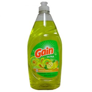 Gain Ultra Dish Liq 21.6oz Lemon Zest