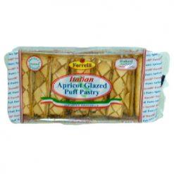 Forrelli Apricot Glazed Puff Pastry 7oz