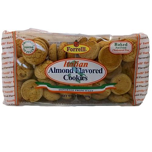 Forrelli Italian Almond Flvrd Cookies 7o