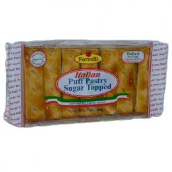 Forrelli Puff Pastry Sugar Topped 7oz