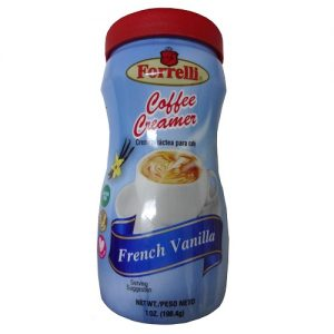 Forrelli Coffee Creamer 7oz French Vanil