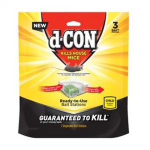 D-Con Bait Station 3ct Corner Fit